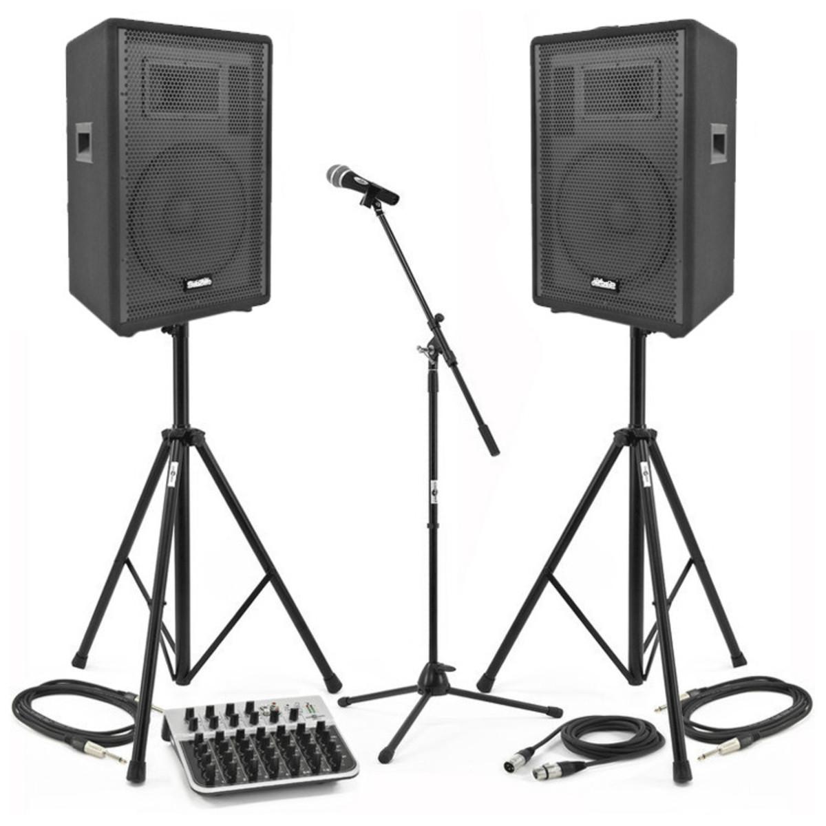 Aktiva högtalare,stativ